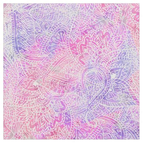 pattern purple fabric abstract girly purple pink paisley sketch pattern fabric