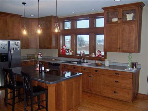 Laminate Countertops With Oak Cabinets by Custom Kitchen Cabinets Ds Woods Custom Cabinets