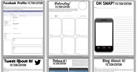 oh snap editable social media template for any short