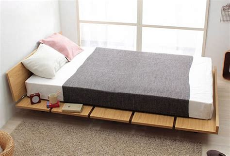 single platform bed frame wood furniture singapore amaya wood bed frame platform