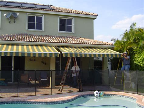 awnings fort lauderdale yahan inc retractable awnings fort lauderdale