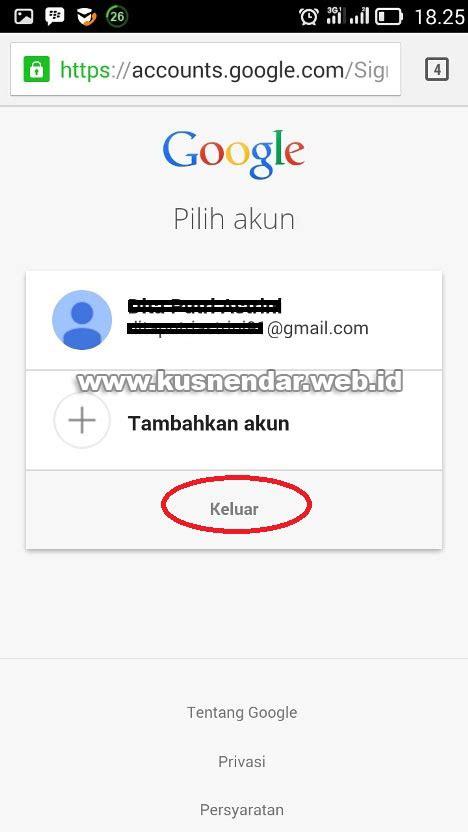 cara membuat gmail dari android cara log out gmail di browser android kusnendar