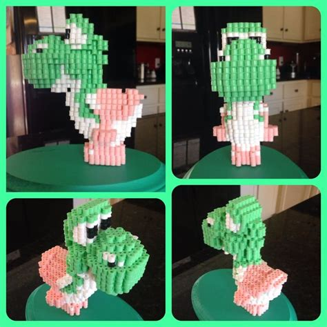 77 Best Perler 3d Projects Models Images On