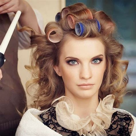 hairstyles for sissy slaves 700 best curlers rollers images on pinterest rollers