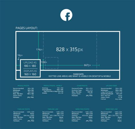 facebook cover layout size facebook and instagram image sizes netclimber web design
