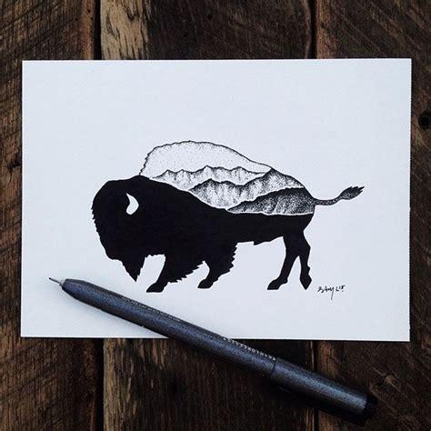 animal tattoo pen 11 best next tattoo images on pinterest buffalo tattoo