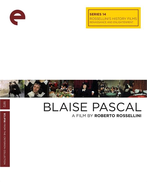 pierre arditi blaise pascal the criterion collection blaise pascal 1972