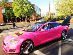 sergey brin spotted driving pink tesla batmobile amp opinion pcmag