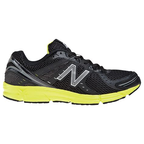 mens new balance sneakers new balance 470 mens neutral running shoes blackyellow in