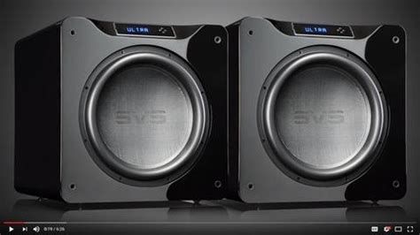 comparing ported  sealed subwoofers  home theater svs