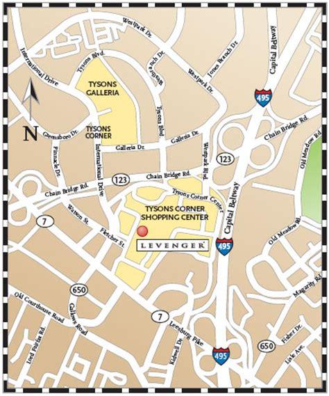 tysons corner mall map tysons corner map my