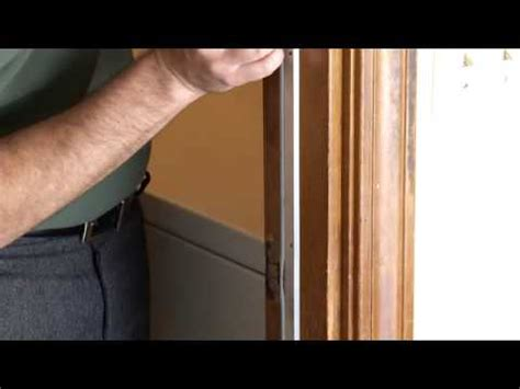 What Is A Door Jam by How To Remove Door Jam Weatherstrip
