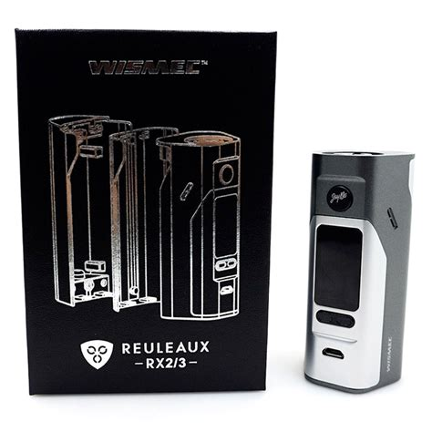 wismec reuleaux rx2 3 tv 150w 200w variable voltage wattage box mod black jakartanotebook