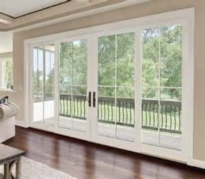 4 Panel Patio Door Best 25 Sliding Glass Doors Ideas On Sliding Glass Doors Doors And