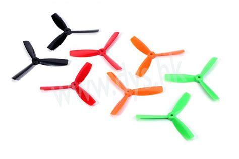 Diskon Dys X40403 O 3 Blade Prop 4040 Cw Ccw Propeller Orange sn hobbies dys 4040 3 blade bullnose props cw ccw 1 pair black