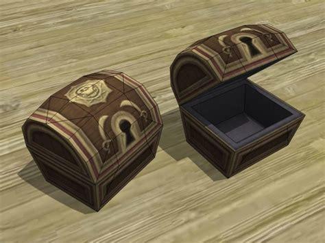 Papercraft Treasure Chest - kh2 2bport 2broyal 2btreasure 2bchest 2bpapercraft jpg