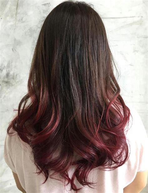 dyed hairstyles for brown hair best 25 dip dye hair ideas on pinterest dip dyed hair