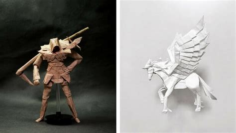 amazing origami 31 amazing origami pieces that are so complex you need