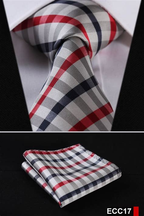 Plaid Neck Tie plaid necktie stripe 3 4 quot 100 silk wedding jacquard woven