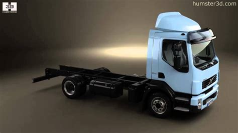 2006 volvo truck models volvo fl chassis truck 2006 by 3d model store humster3d