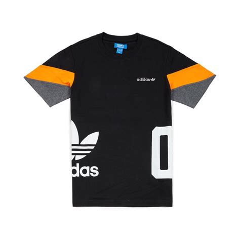 Adidas T Shirt Tshirt Black adidas originals color block t shirt black 39 00 t