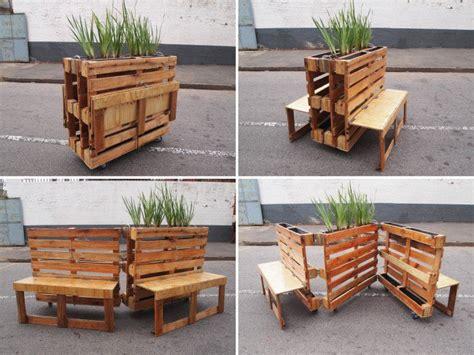 reciclar muebles de madera aprende a reciclar palets de madera para convertirlos en