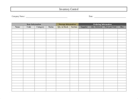 stock spreadsheet template free 24 free inventory templates for excel and word you must