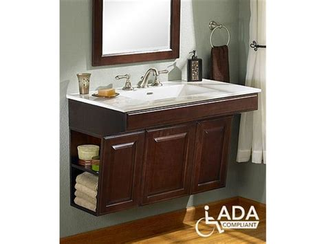 Bathroom Sinks And Cabinets by Handicap Bathroom Sinks And Cabinets Fairmont Designs