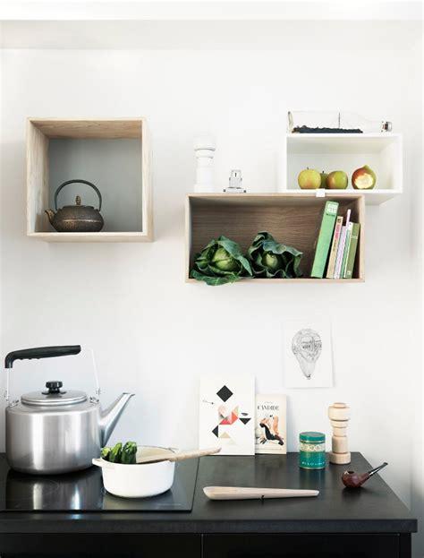 white kitchen box shelves interior design ideas