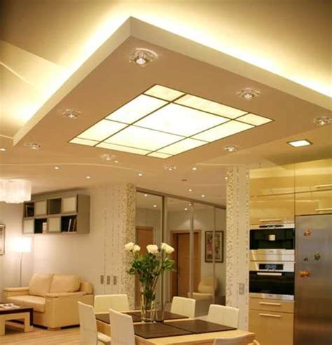 Designer Ceiling | 30 glowing ceiling designs with hidden led lighting fixtures