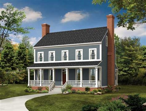colonial 3 story house plans 2 story colonial style house