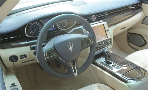 2014 maserati quattroporte interior car and driver