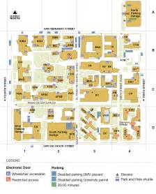 San Jose State Map by San Jose State Campus Map Pictures To Pin On Pinterest