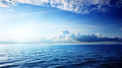 wallpaper sea   wallpaper ocean sky clouds nature