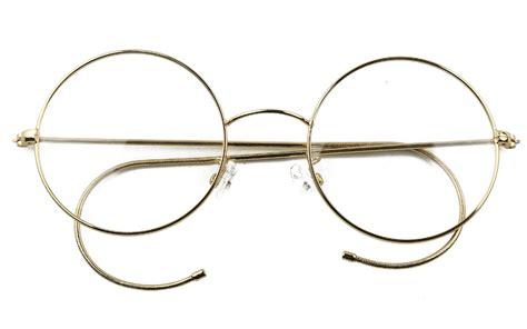 47mm agstum antique vintage glasses wire