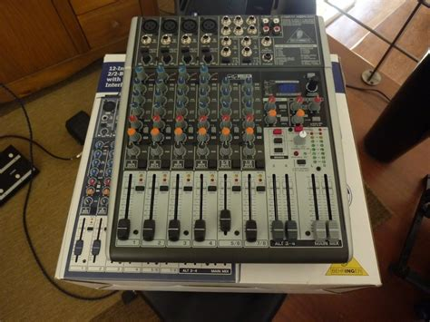 Mixer Behringer Xenyx 1204fx Behringer Xenyx 1204fx Image 207526 Audiofanzine