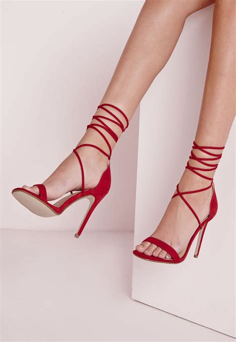 in high heel shoes lace up barely there heeled sandals shoes high