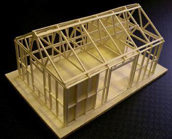 Model House Kits by Balsa Model House Kit Ts1070