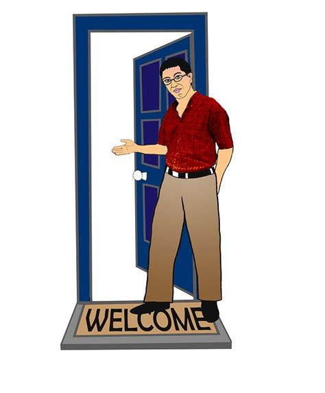 Come On Up To The House by Free Illustration Welcome Come In Welcome Home Free