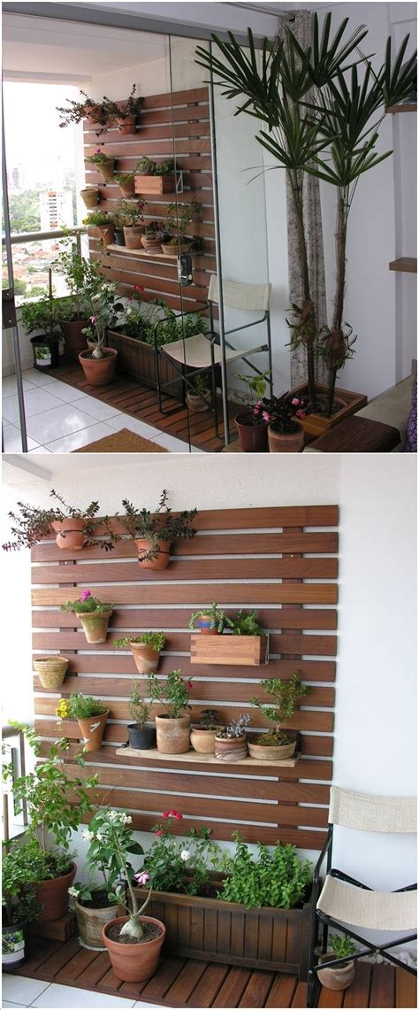 Vertical Garden For Side Wall For The Balcony Balcony Wall Garden