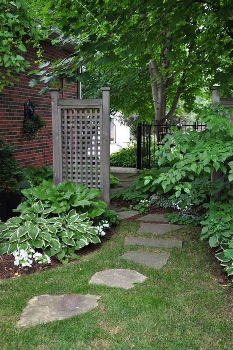 Thin Trellis Ideas For That Narrow Space In Between Suburban Homes