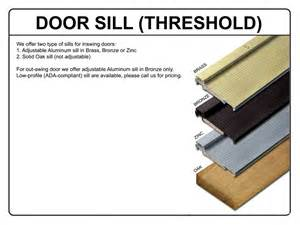 Home Depot French Doors Exterior Outswing - ada exterior door threshold detail cars