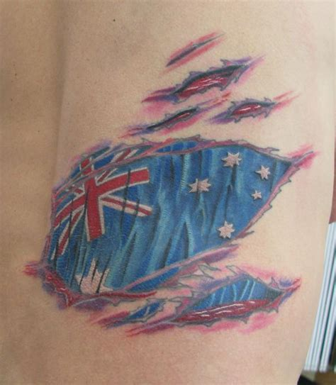 australian tattoos my designs australian flag