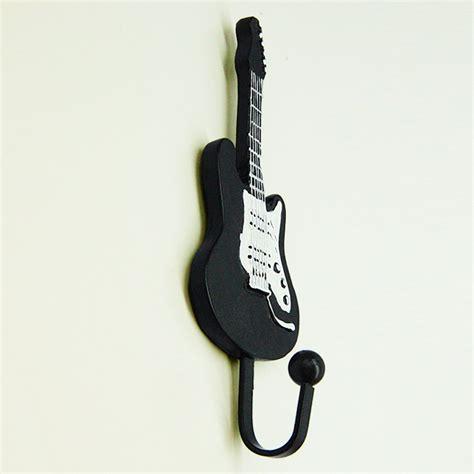 creative coat hooks creative guitar resin coat hat robe hanger clapboard walls