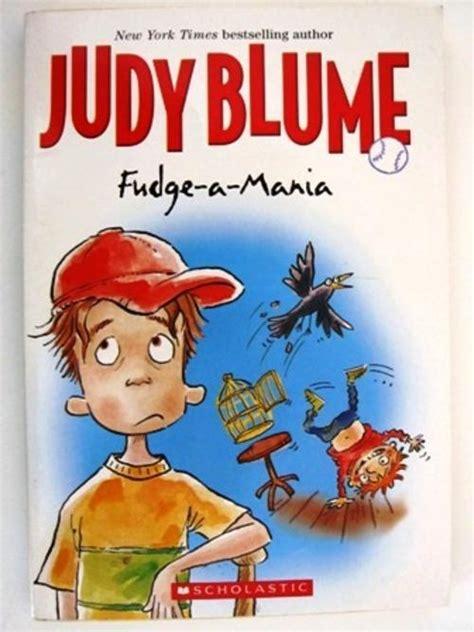 fudge a mania book report fiction fudge a mania by judy blume scholastic was