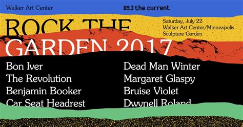 Rock The Garden Lineup Rock The Garden 2017 Lineup Indieheads