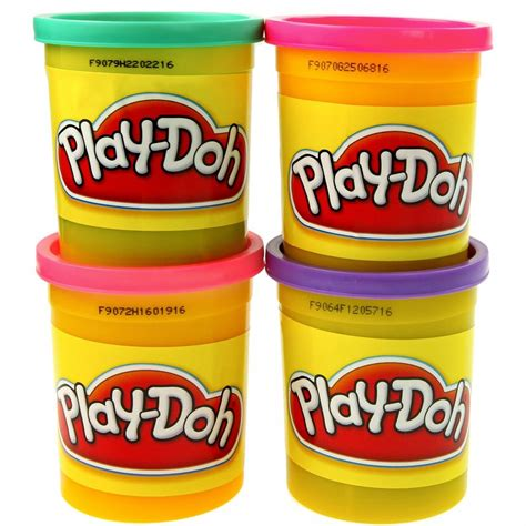 play doh colors play doh 4 pack 5oz assorted colors brand play doh
