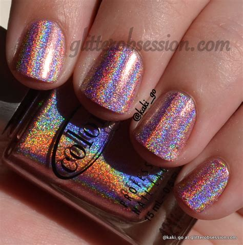 glitter obsession color club halo hues