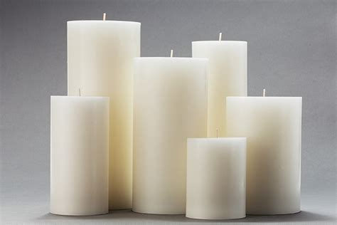 waagerechtes bauglied large candles festival large candle 70x280mm large