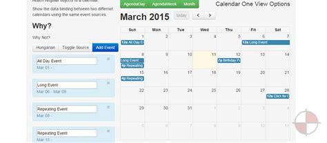 angularjs calendars examples angularjs
